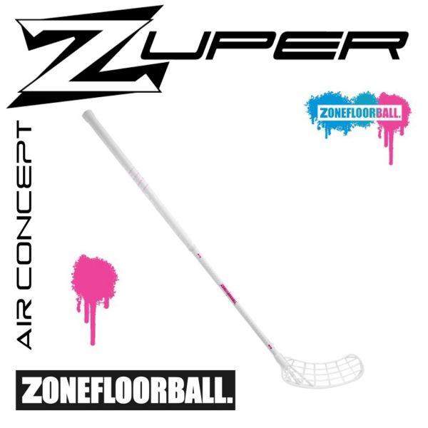 Zone ZUPER AIR Superlight 28 White Edt. weiß/magenta