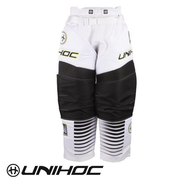 Unihoc INFERNO TW-Hose weiß/schwarz