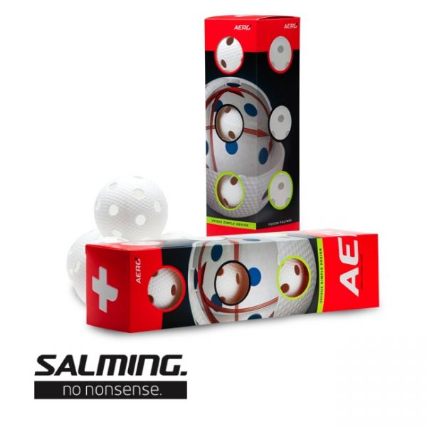 Salming Aero Plus 4-Pack Weiß