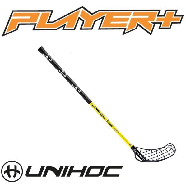 Unihoc PLAYER+ Composite 30 schwarz/gelb