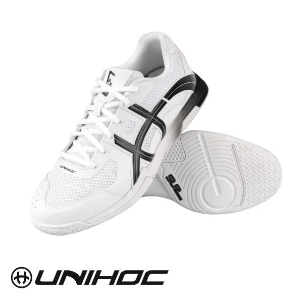 Unihoc Schuh U3 ELITE MEN weiß/schwarz