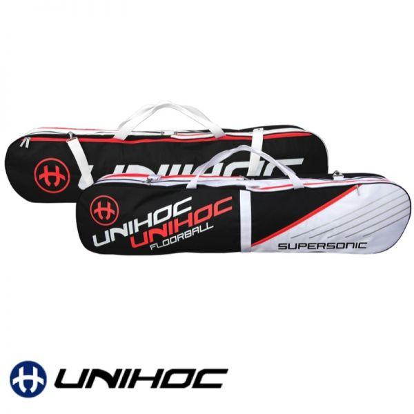 Unihoc Toolbag SUPERSONIC Senior schwarz/weiß