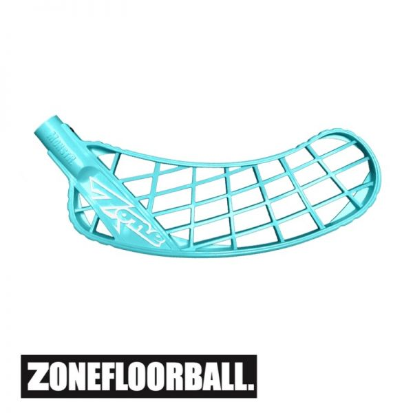 Floorball Kelle - Zone MONSTR Air Soft Feel Medium türkis