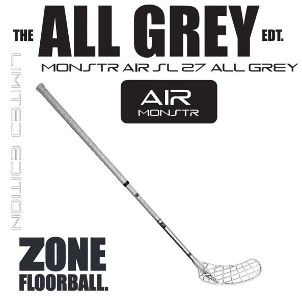 Zone MONSTR AIR Superlight 27 FATSHAFT Edtition Grau