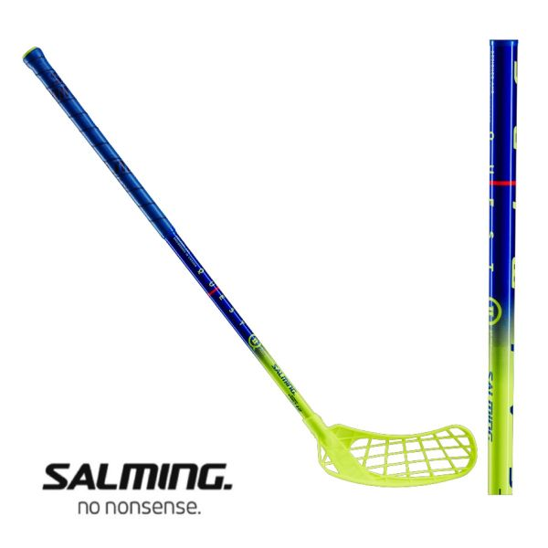 Salming QUEST 2 35 Mid navy/lime