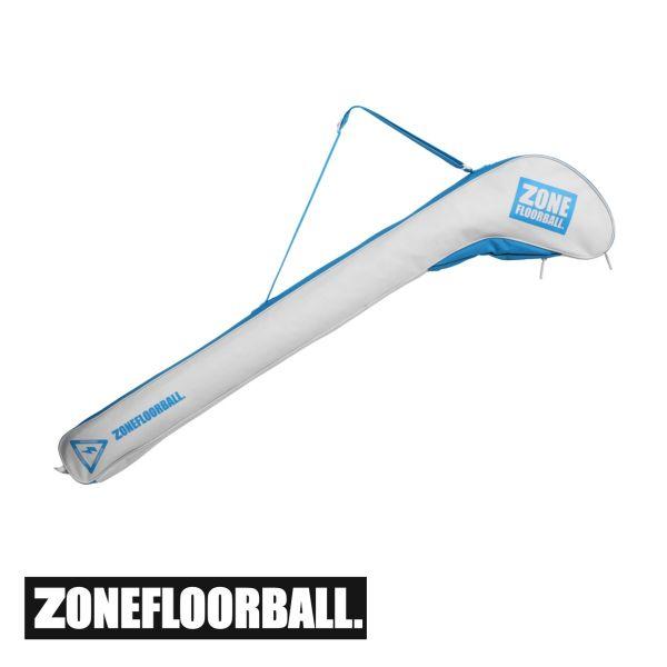 Zone Schlägertasche CARRYALL Junior weiß/blau