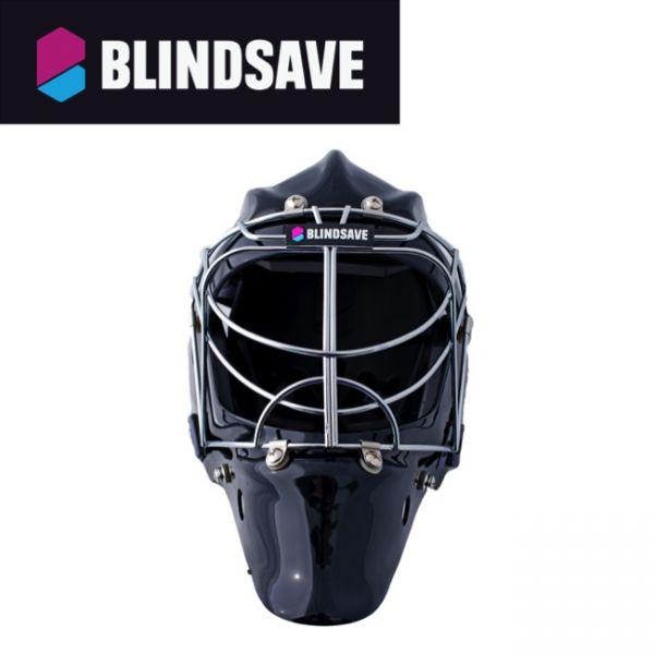 BLINDSAVE Maske schwarz - frontal