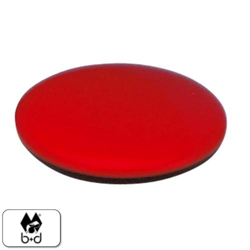 b+d Wählmarke rot/schwarz