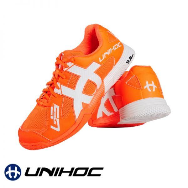 Unihoc Schuh U3 SPEED NXT orange/weiß