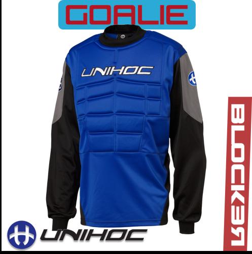 Unihoc BLOCKER TW-Pullover Senior blau/schwarz