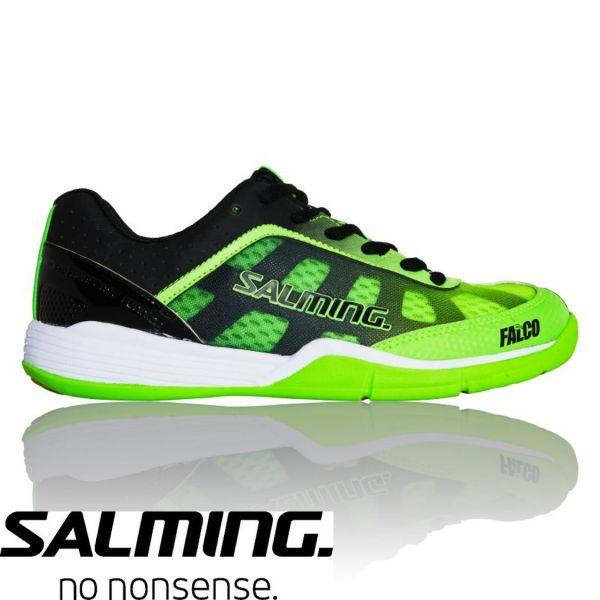 Salming Schuh FALCO Junior Grün/Schwarz