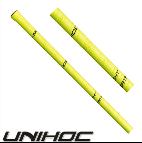 Unihoc Grip FEATHER LIGHT neon-gelb