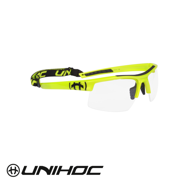 Unihoc Sportbrille ENGERY Junior gelb