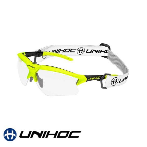 Unihoc Sportbrille X-RAY Junior gelb/schwarz