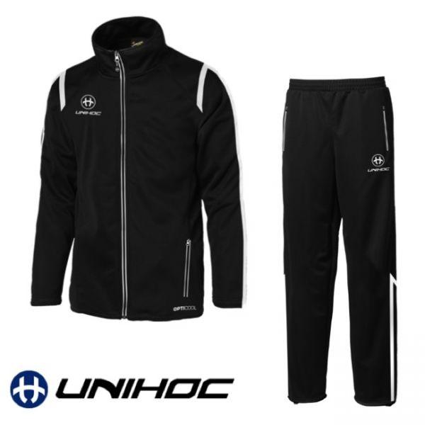 Unihoc Trainingsanzug SANTIAGO schwarz