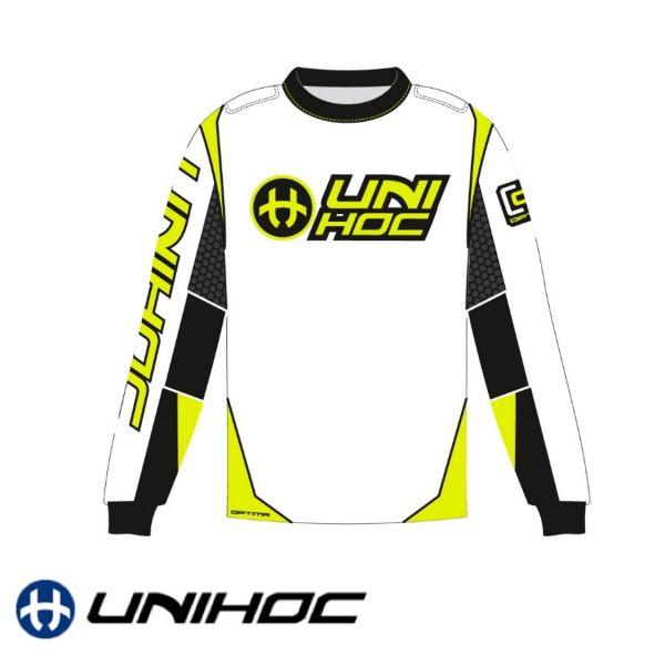Unihoc OPTIMA TW-Pullover weiß