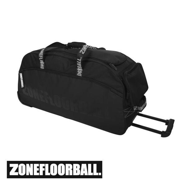 Zone Sporttasche BRILLIANT groß (mit Rollen) schwarz/grau