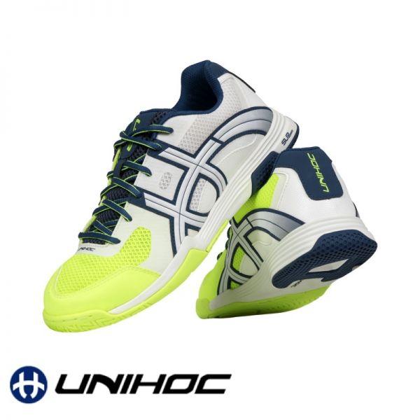 Unihoc Schuh U3 ELITE MEN blau/gelb