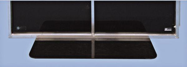 Unihoc Bande PREMIUM Kleinfeld (28 x 16 m) schwarz