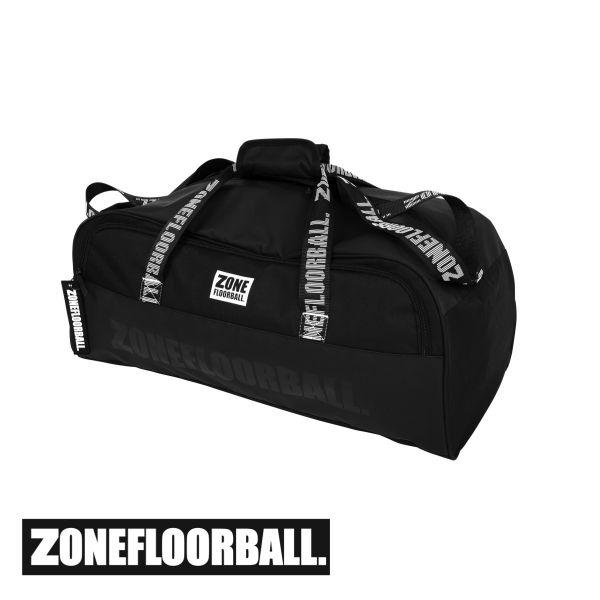 Floorball Sporttasche BRILLIANT mittel schwarz/grau