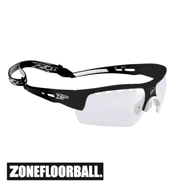 Floorball Brille für Erwachsene - Zone MATRIX Senior schwarz