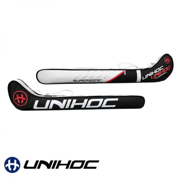 Unihoc Stickbag SUPERSONIC Senior schwarz/weiß