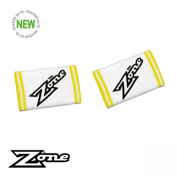 Zone Schweißbänder COMBO - weiß 2er Pack