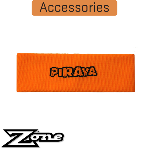 Zone Stirnband PIRAYA Kids neon-orange