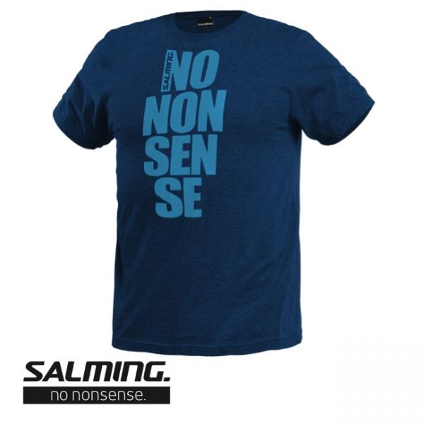Salming T-Shirt NO NONSENSE TEE Blau