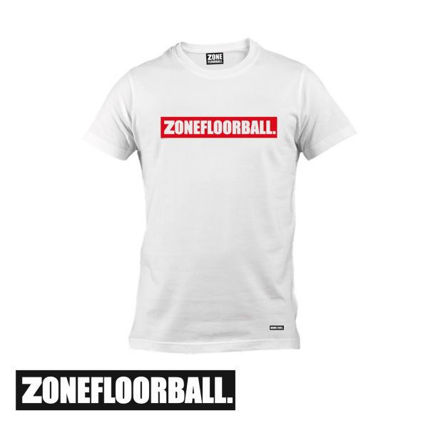Zone T-Shirt PERSONAL weiß/rot