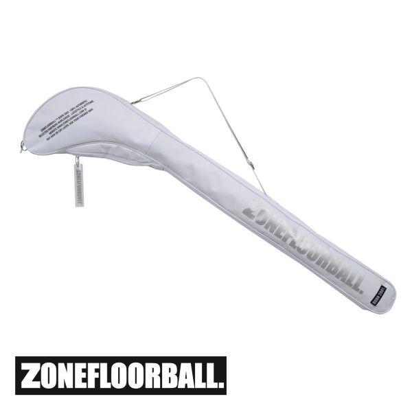 Zone Floorball Schlägertasche BRILLIANT+ Senior weiß/silber