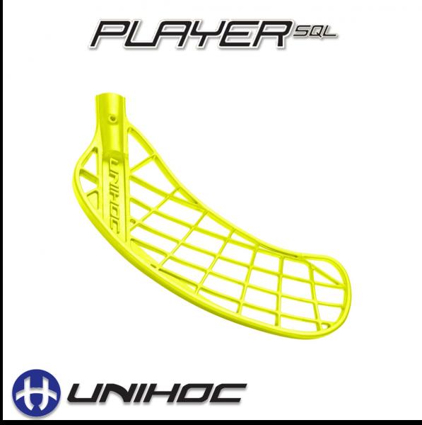 Unihoc PLAYER Medium neon gelb
