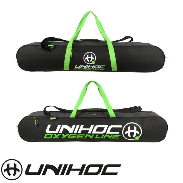 Unihoc Toolbag OXYGEN LINE Junior Schwarz/Grün