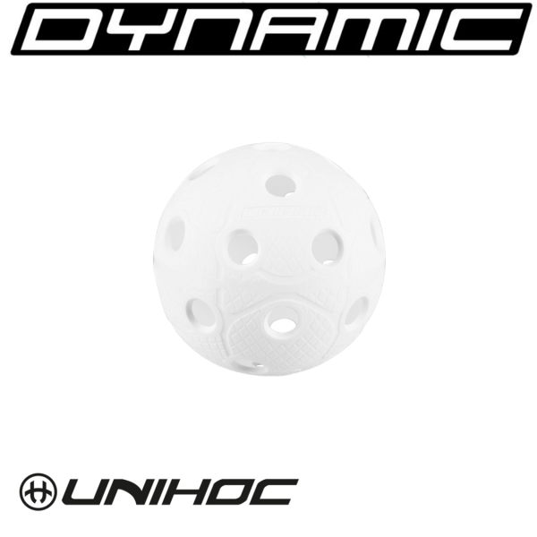 Floorball Unihoc DYNAMIC weiß