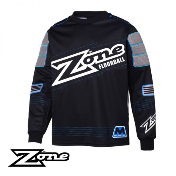 Floorball Pullover für Torhüter - Zone MONSTER TW-Pullover schwarz