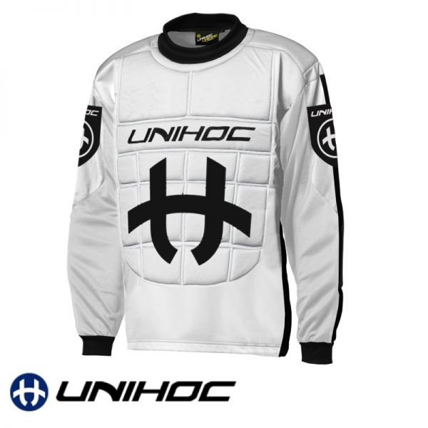 Unihoc SHIELD TW-Pullover Weiß/Schwarz