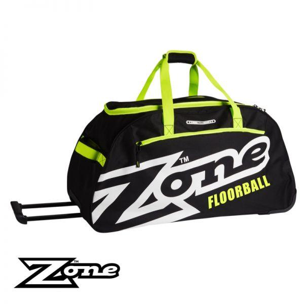Zone Sporttasche EYECATCHER groß (mit Rollen) gelb