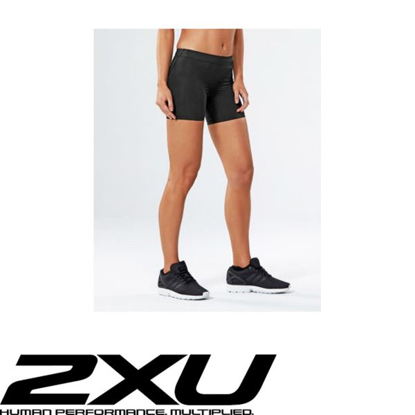 2XU FITNESS Compression Lady Short schwarz