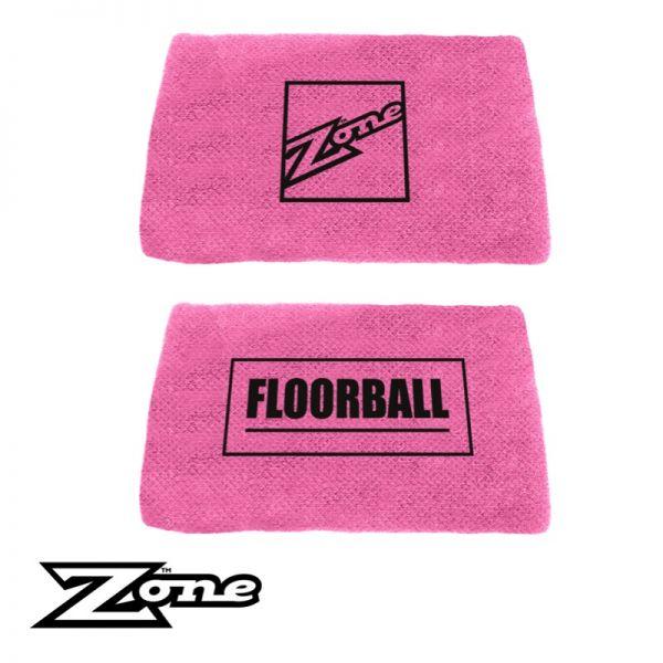 Zone Schweißband SLACKER pink (2er Pack)
