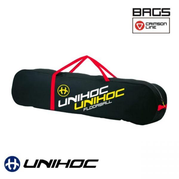 Unihoc Stickbag CRIMSON LINE schwarz