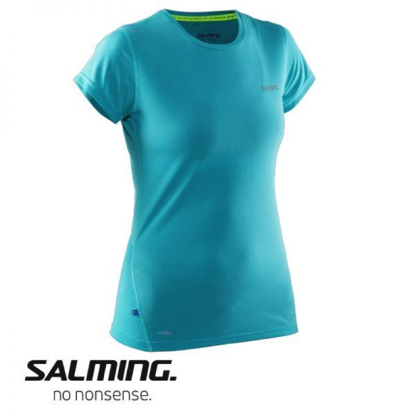 Salming Running Short Sleeve Tee Women grün