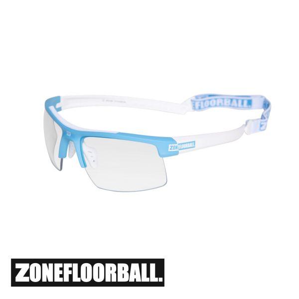 Zone Sportbrille PROTECTOR Junior blau/weiß