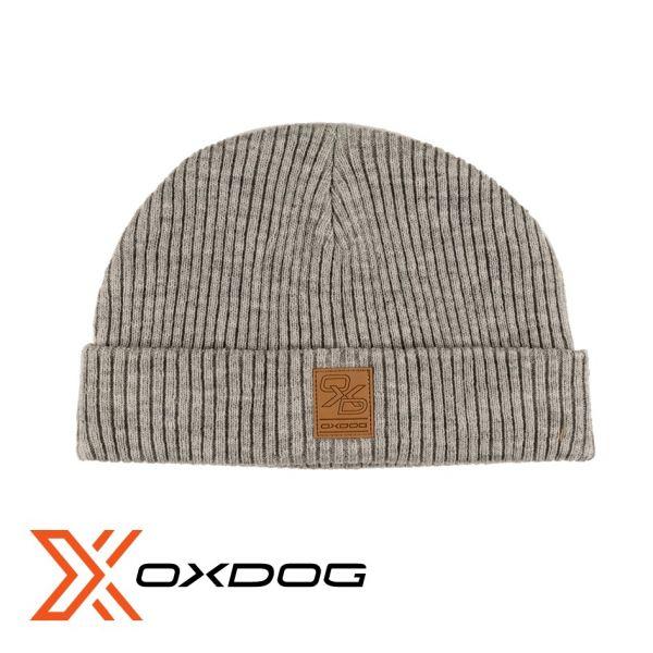 Oxdog Beanie FISH grau