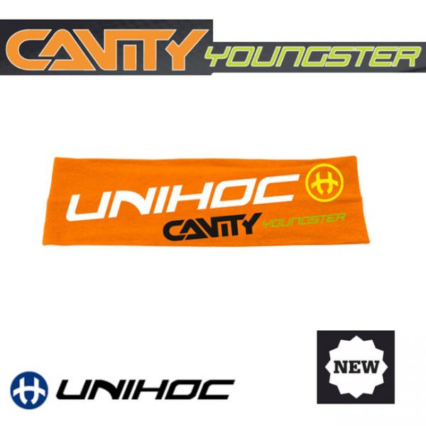 Unihoc Haarband CAVITY YOUNGSTER neon orange