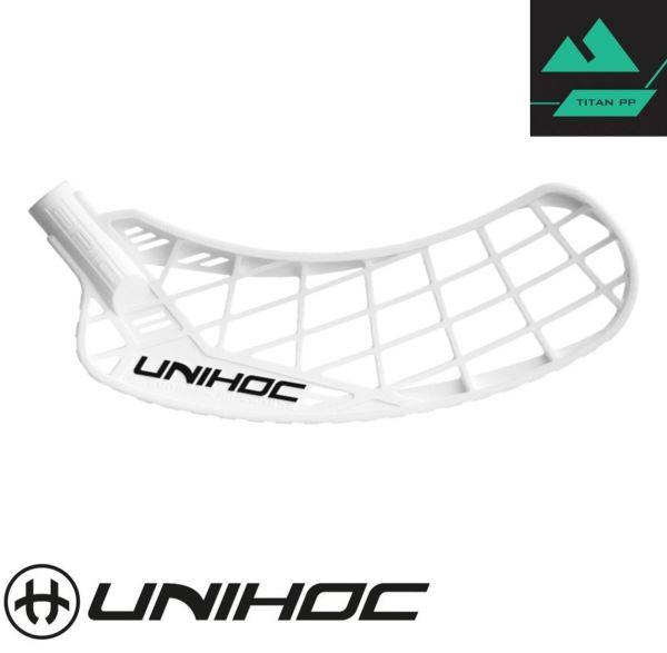 Unihoc EPIC TITAN Hart weiß