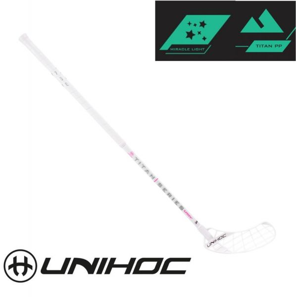 Unihoc UNITY TITAN Miracle Light 29 weiß