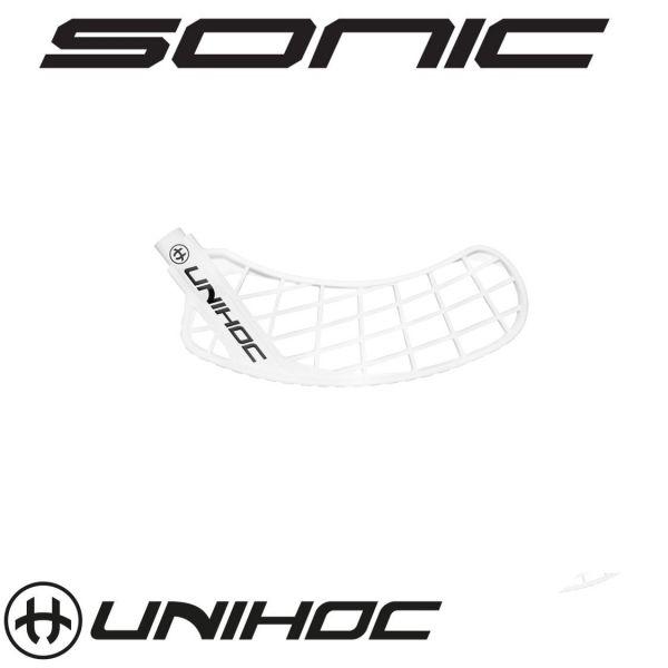 Unihoc SONIC Hart weiß