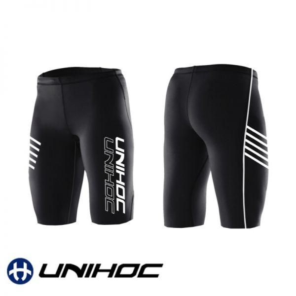 Unihoc Shorts COMPRESSION schwarz