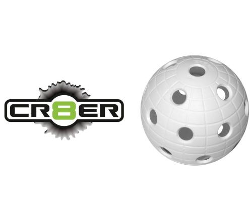Offizieller WM-Floorball Unihoc CR8TER white