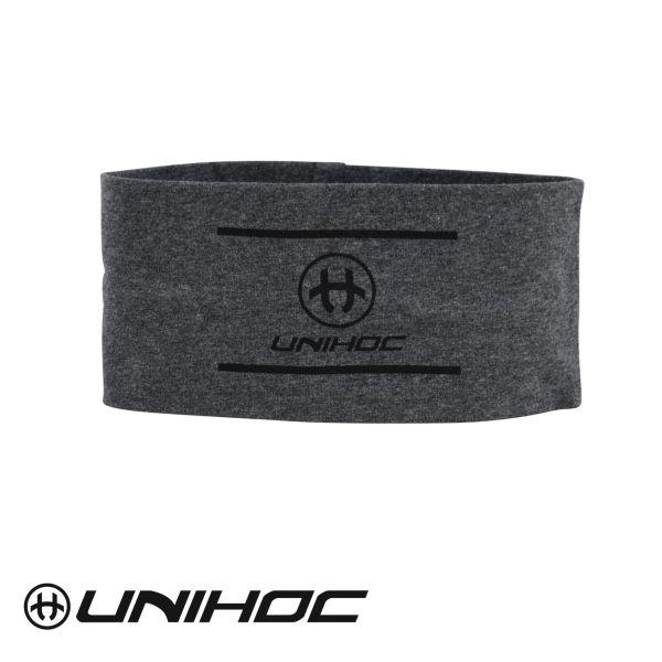 Unihoc Stirnband ALLSTAR wide grau